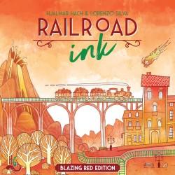 RailRoad Ink - Rojo Abrasador