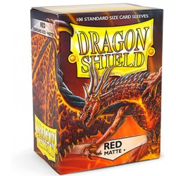 Dragon Shield Sleeves - Red...