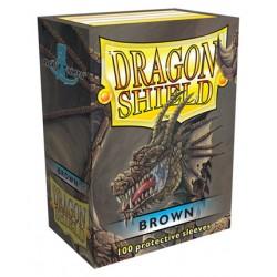 Dragon Shield Sleeves - Brown