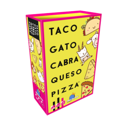 TACO GATO CABRA QUESO PIZZA