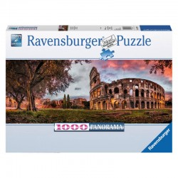 Puzzle Sunset Colosseum...