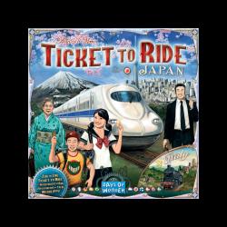 Tiket  To Ride Japon
