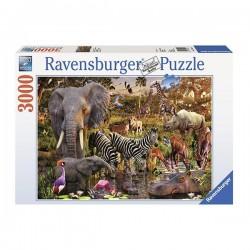 Puzzle Animales de África -...