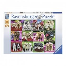 Puzzle Cachorros - 500 piezas