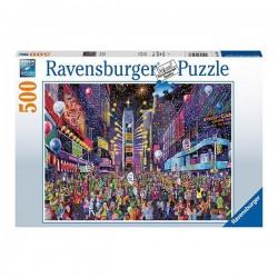 Puzzle Año nuevo en Times...