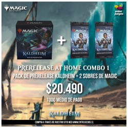 PRERELEASE AT HOME COMBO 1...