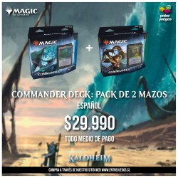 MTG Commander Deck: Pack de...