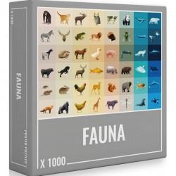 PUZZLE FAUNA 1000