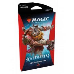 Kaldheim Theme Booster Rojo