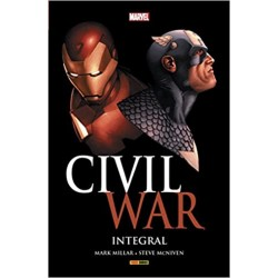 CIVIL WAR MARVEL INTEGRAL